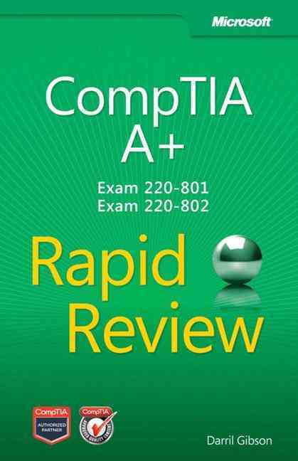 Comptia A+ Rapid Review (Exam 220-801 and Exam 220-802) By Buchanan, Steve